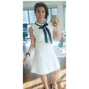 Dresses & Skirts - Adorable Preppy Fit & Flare Necktie Dress